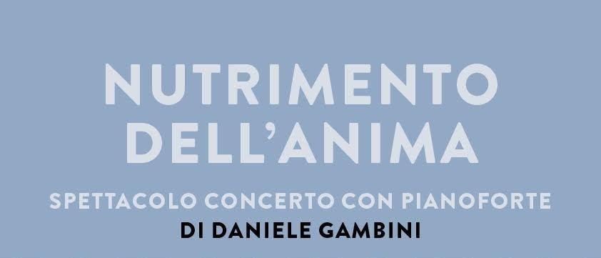 Un nuovo concerto di Daniele Gambini, il pianista che ascolta con le dita