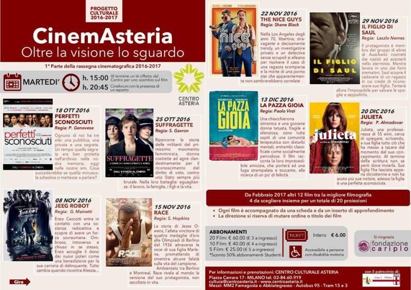 Al CinemAsteria al via la XXV edizione con i film sottotitolati
