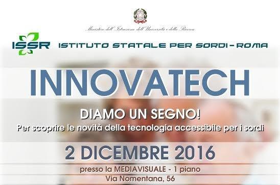 A Roma Innovatech 2016: tecnologie per l'invecchiamento attivo