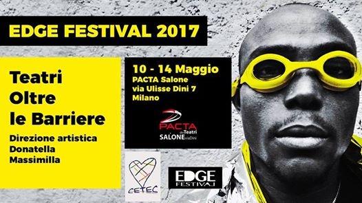 Da domani giovedì 11 maggio prende il via l'Edge Festival  2017