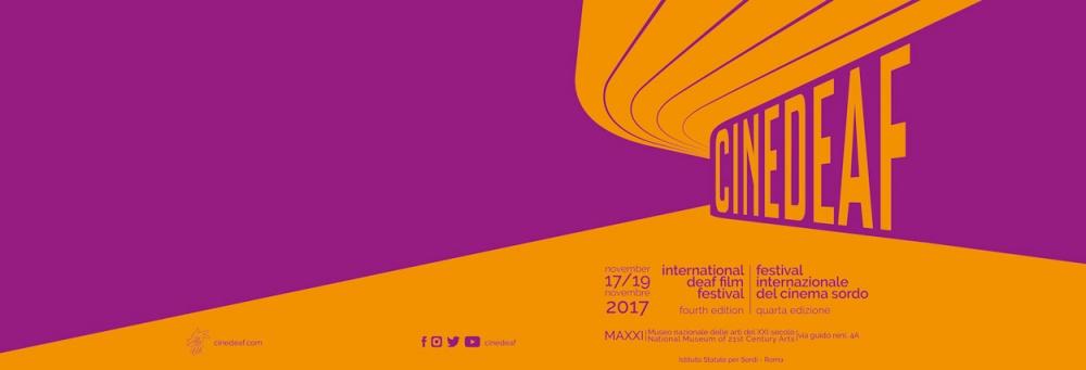 A Roma c'è Cinedeaf, Festival Internazionale del Cinema Sordo
