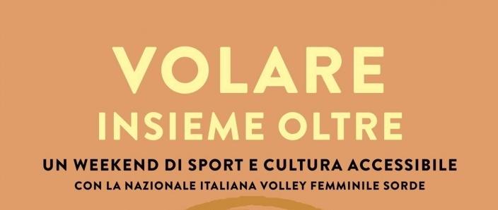 Volare insieme oltre: sport e cultura accessibile