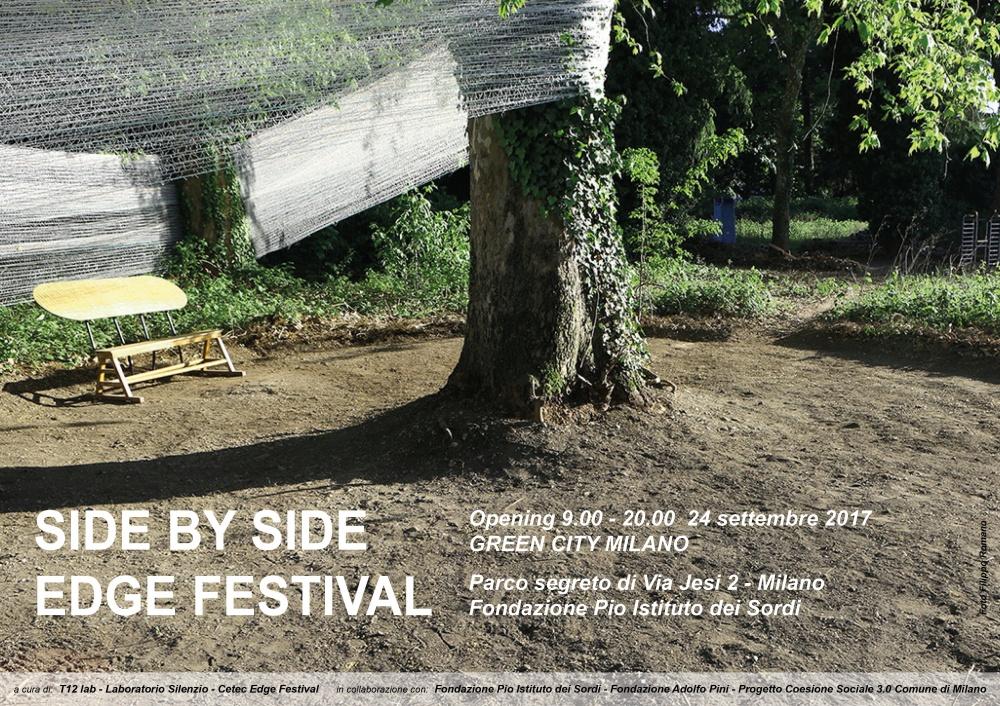 Apre il parco segreto di via Jesi con istallazioni di design sociale, rappresentazioni teatrali