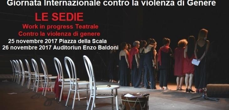 Le Sedie, una performance teatrale che ha come tema la violenza alle donne, anche con disabilità