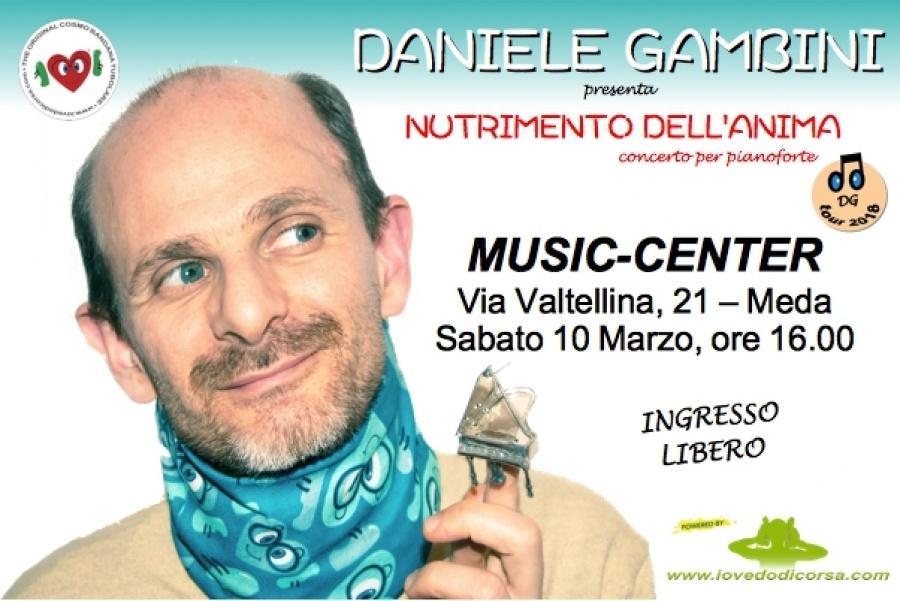 Daniele Gambini in concerto a Meda